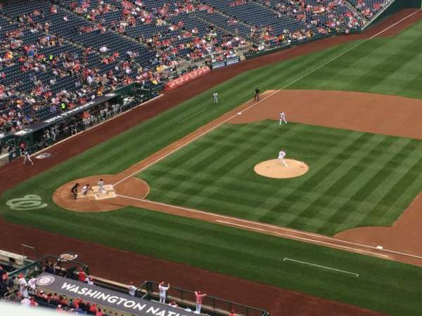Nationals Park, section: 420, row: A, seat: 10