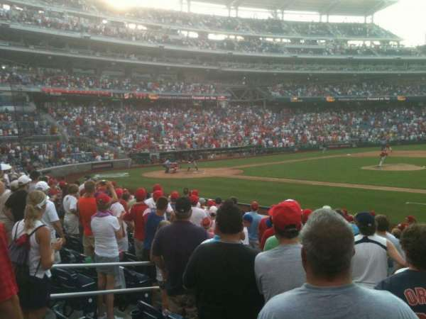 Nationals Park, section: 130, row: R, seat: 10