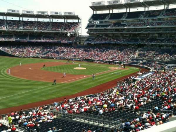 Nationals Park, section: 204, row: A, seat: 4