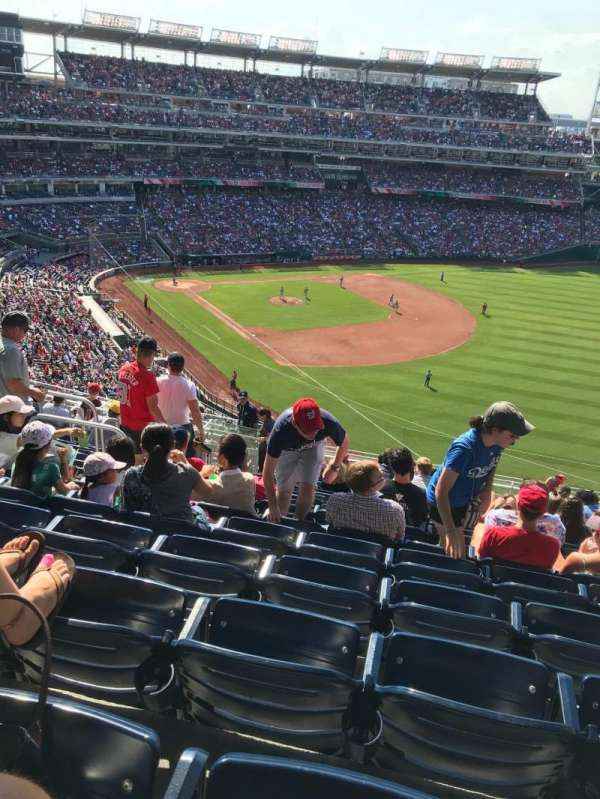 Nationals Park, section: 228, row: T, seat: 17