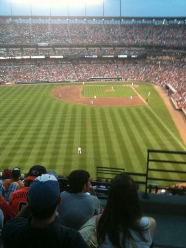 Oriole Park at Camden Yards, section: 384, row: 13, seat: 2