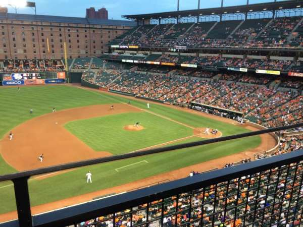 Oriole Park at Camden Yards, section: 358, row: 1, seat: 9