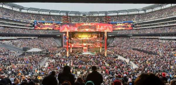 Metlife stadium , section: 126, row: 45, seat: 25