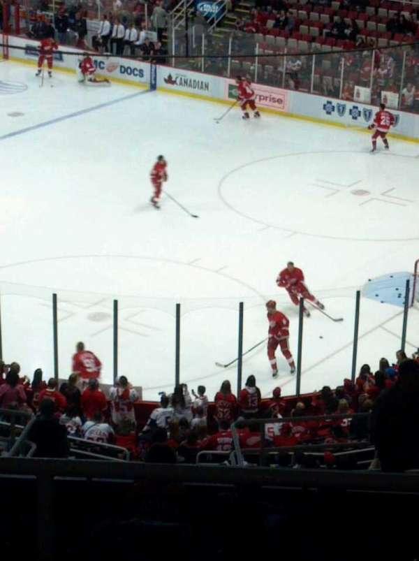 Joe Louis Arena, section: 203b, row: 16