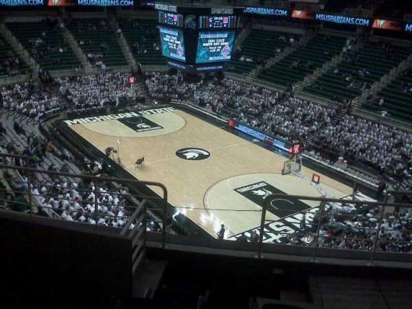 Breslin Center, section: 222, row: 6, seat: 104