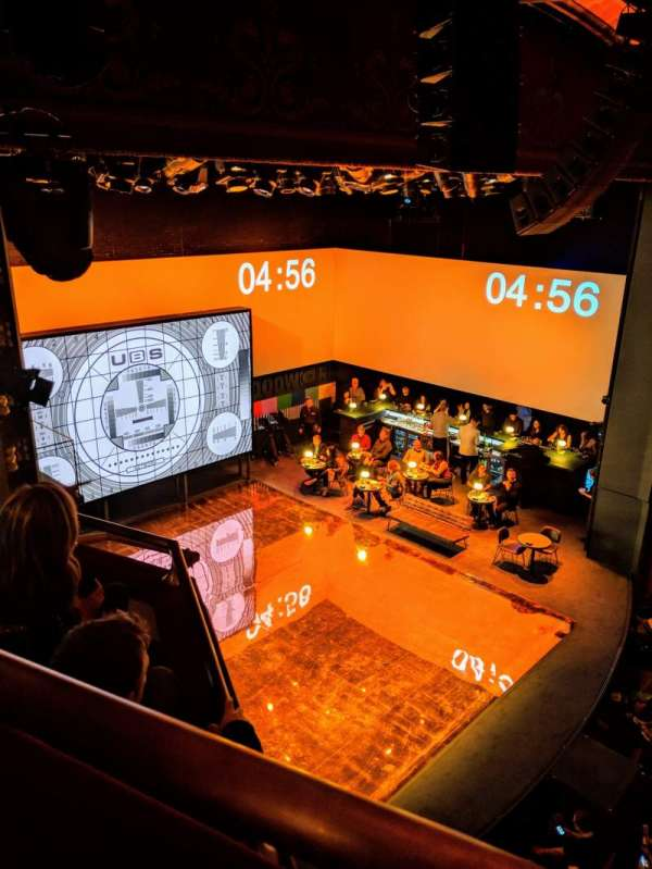 Belasco Theatre, row: Box, seat: G