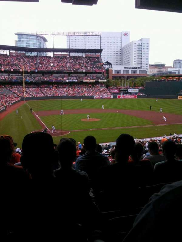Oriole Park at Camden Yards, section: 29, row: 7, seat: 9