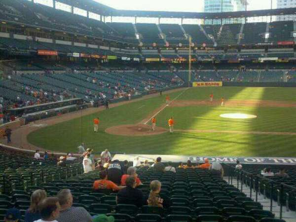 Oriole Park at Camden Yards, section: 26, row: 24, seat: 4