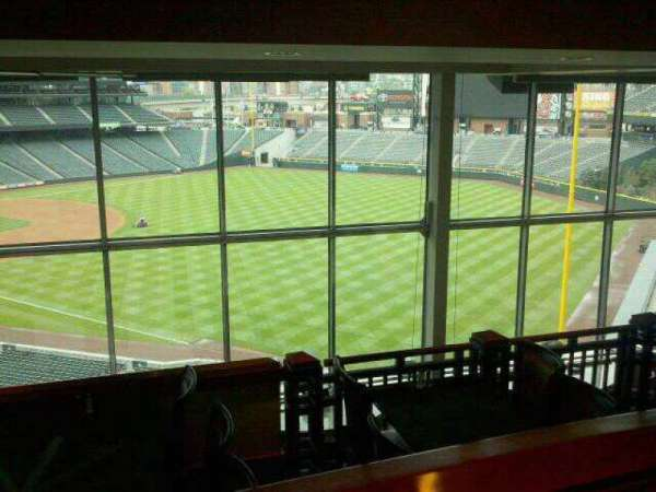 Coors Field, section: Mountain Ranch Club