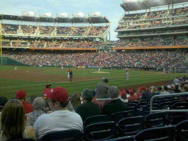 Nationals Park, section: 112, row: T, seat: 6