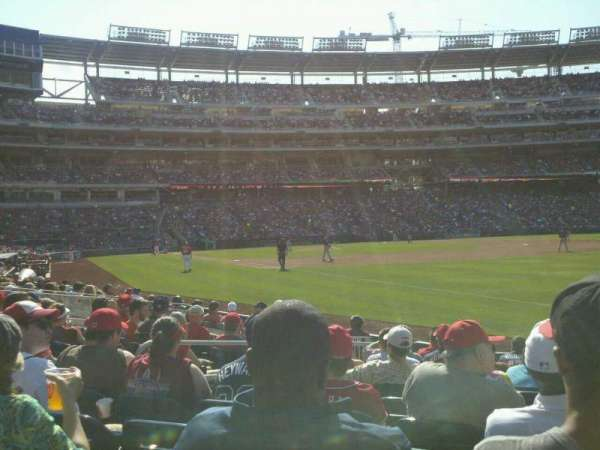 Nationals Park, section: 135, row: L, seat: 6