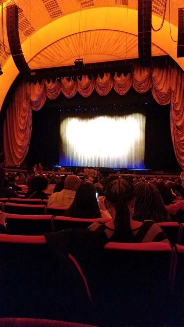 Radio City Music Hall, section: Orchestra 3, row: B, seat: 302