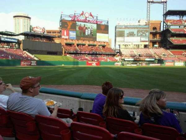 Busch Stadium, section: 166, row: C