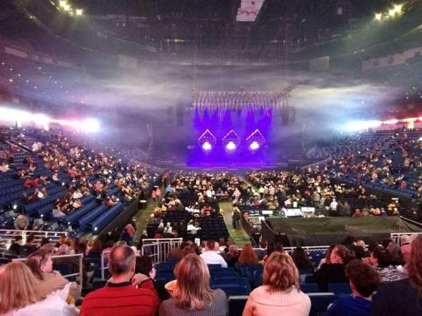 Smoothie King Center, section: 107, row: 20, seat: 7