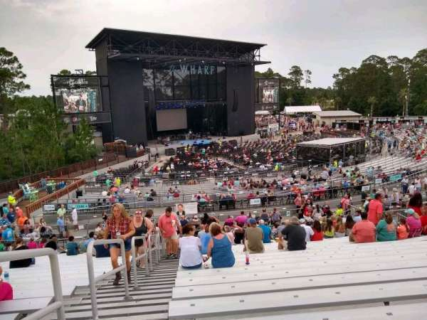 The Wharf Amphitheater, section: 307, row: W, seat: 28