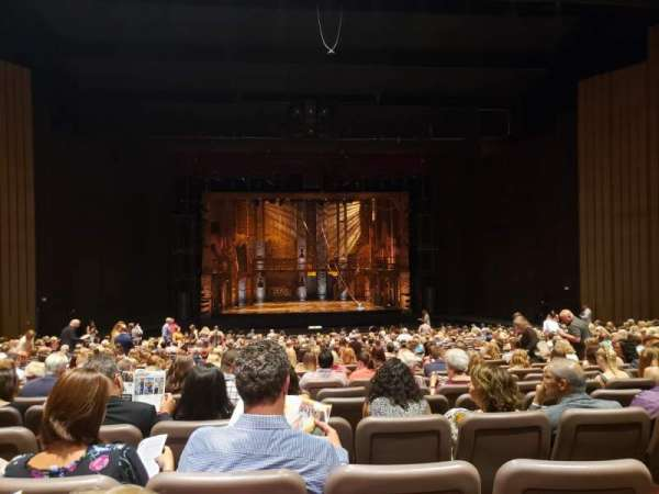 Chapman Music Hall - Tulsa Performing Arts Center, section: Orchestra, row: BB, seat: 105