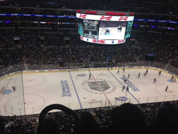 Staples Center, section: 319, row: 3, seat: 11