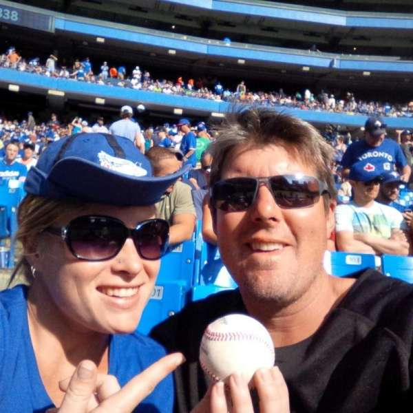 Rogers Centre, section: 100, row: 3