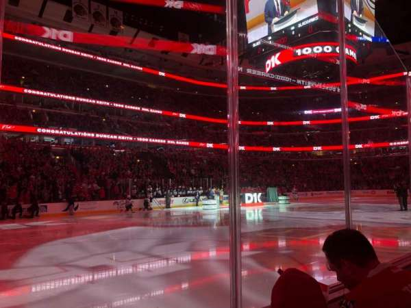 United Center, section: 114, row: 2, seat: 4