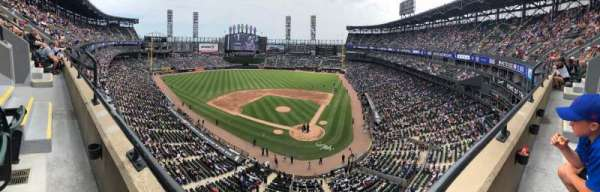 Guaranteed Rate Field, section: 535, row: 1, seat: 5