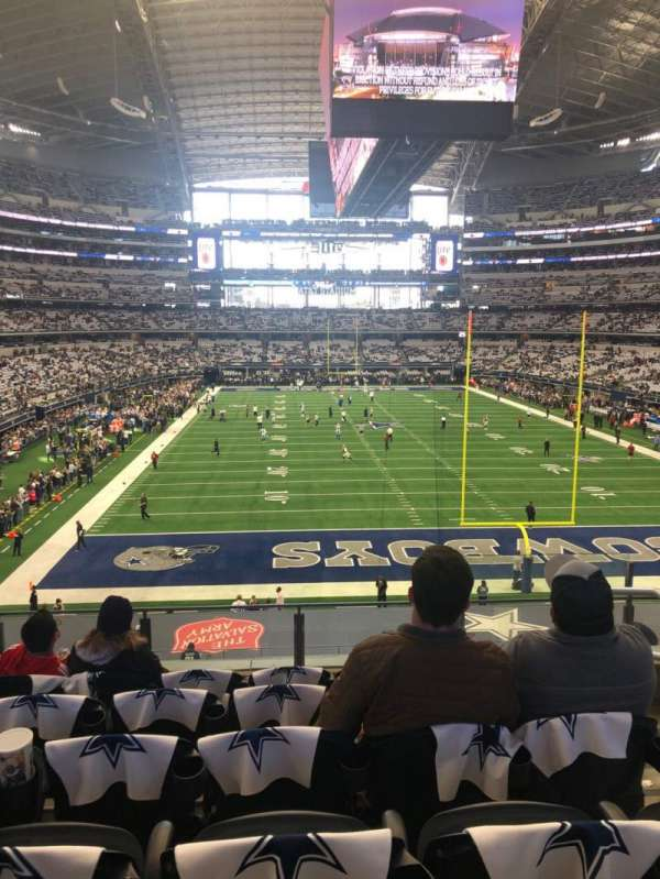 AT&T Stadium, section: 249, row: 6, seat: 3