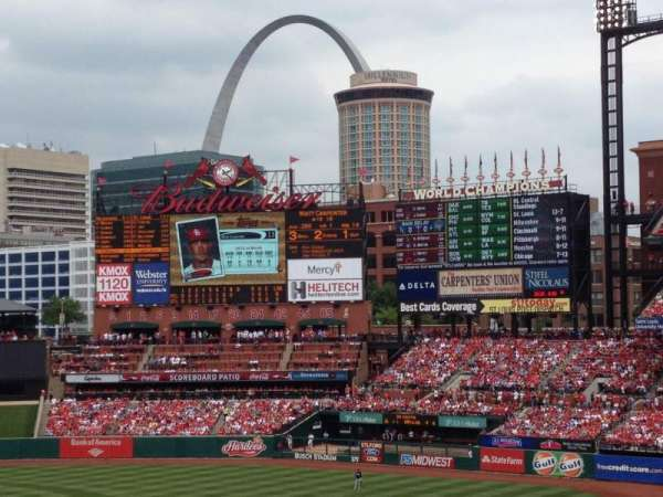 Busch Stadium, section: 248, row: 1, seat: 16