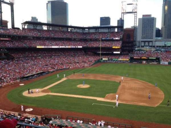 Busch Stadium, section: 242, row: 3, seat: 7