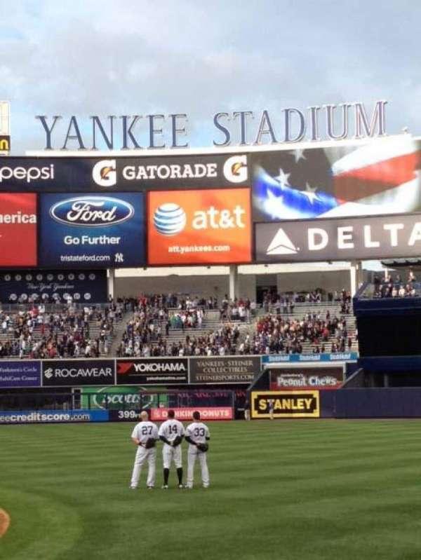 Yankee Stadium, section: 014B, row: 3