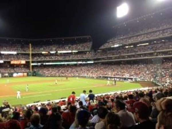 Citizens Bank Park, section: 134, row: 22