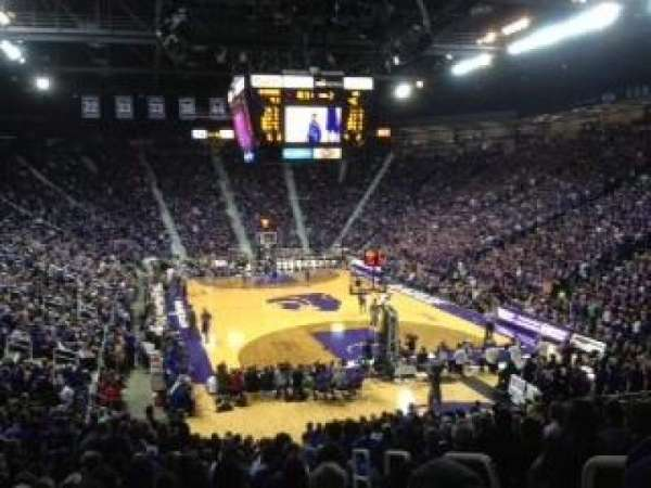 Bramlage Coliseum, section: 27, row: 22