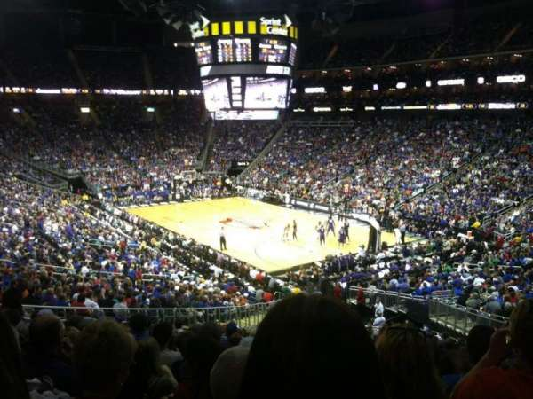 Sprint Center, section: 114, row: 25