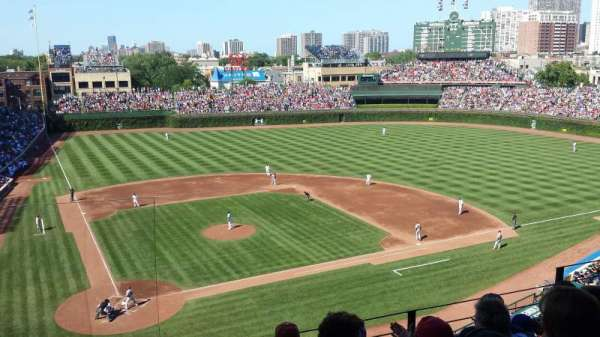 Wrigley Field, section: 321R, row: 5, seat: 8