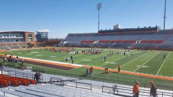 Doyt Perry Stadium, section: 8, row: 25, seat: 18