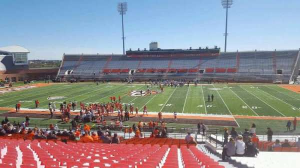 Doyt Perry Stadium, section: 13, row: 38, seat: 38