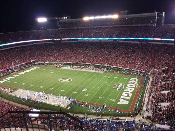 Sanford Stadium, section: 602, row: 6, seat: 20