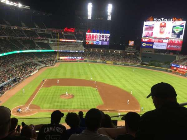 SunTrust Park, section: 322, row: 7, seat: 3
