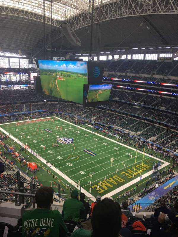 AT&T Stadium, section: 404, row: 17, seat: 15