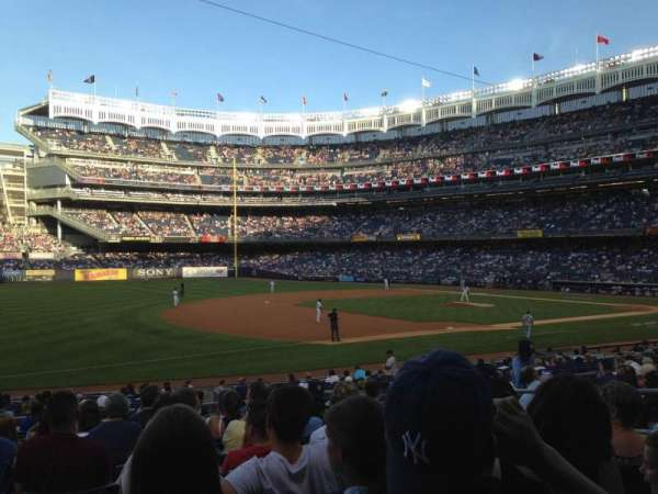 Yankee Stadium, section: 127B, row: 23, seat: 6