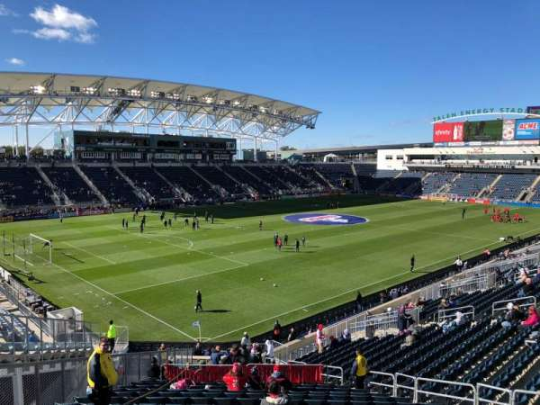 Talen Energy Stadium, section: 133
