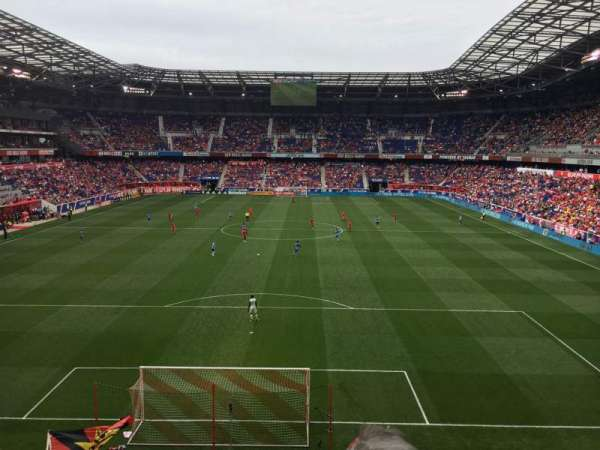 Red Bull Arena, section: 201, row: 2, seat: 4