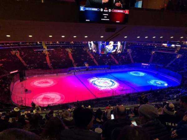 Madison Square Garden, section: 222, row: 17, seat: 9