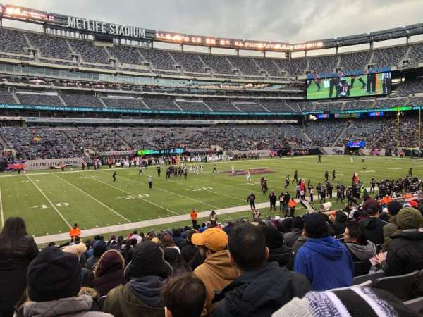 MetLife Stadium, section: 116, row: 21, seat: 18