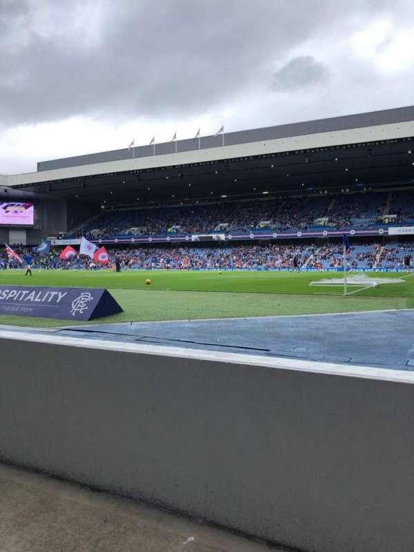 Ibrox Stadium, section: SE2, row: A