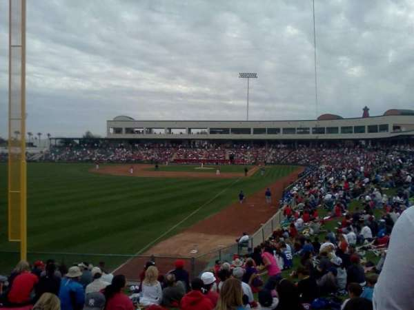 Tempe Diablo Stadium, section: lawn