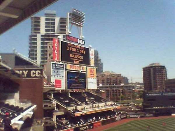 PETCO Park, section: 308
