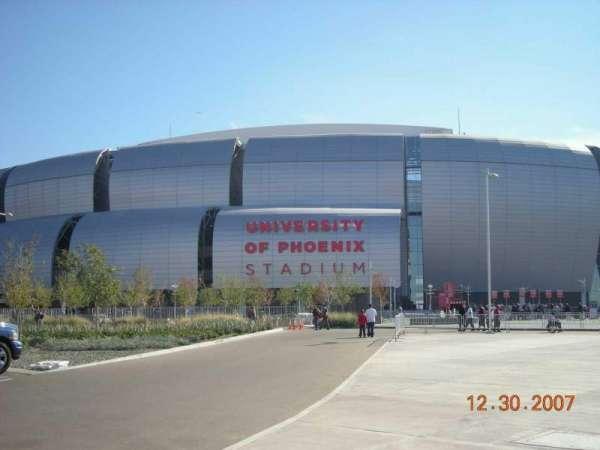 State Farm Stadium, section: Gila River Club West