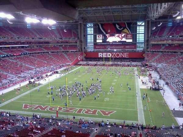 State Farm Stadium, section: 426, row: B, seat: 8