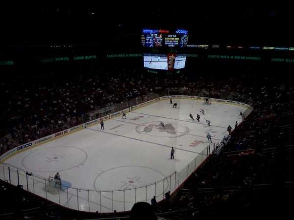 Gila River Arena, section: 205, row: C, seat: 9