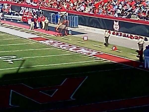 Arizona Stadium, section: 12, row: 30, seat: 16