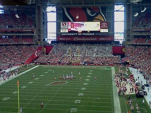 State Farm Stadium, section: 427, row: C, seat: 6